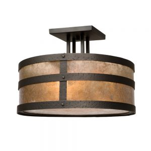 3670 Round Drop Ceiling Mount - Portland