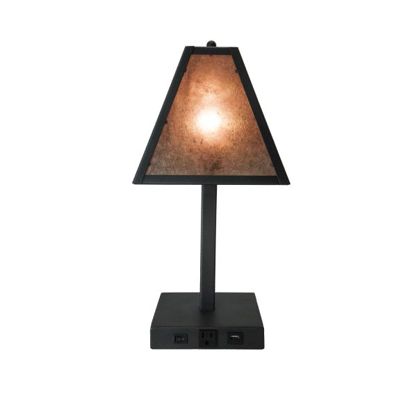 table lamp, hospitality, lighting, lodge, resort, hotel, cabin